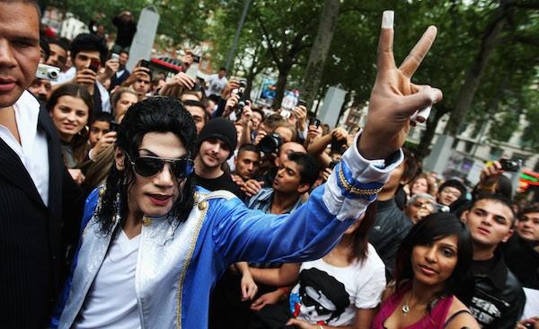 O ator Navi é um sósia oficial de Michael Jackson (Foto: Getty Images)