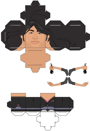 jonas brothers paper toy