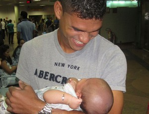 Dakson Vasco e o filho (Foto: Divulgação/Arquivo Pessoal)
