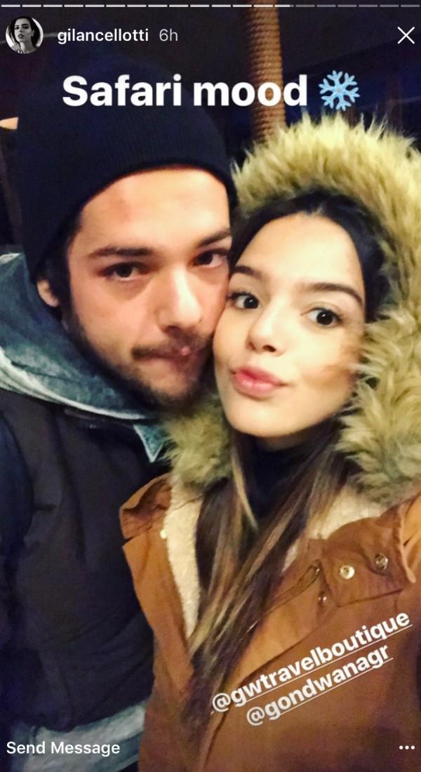Luca Ewbank e Giovanna Lancellotti (Foto: Reprodução/ Instagram)