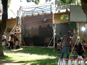 Filme baseado em história de juiz federal é gravado em Dourados, MS (Foto: Reprodução/ TV Morena)