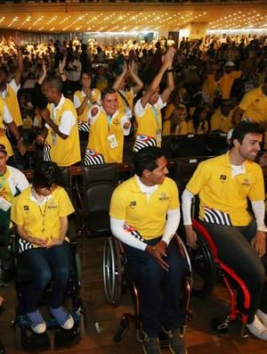 Abertura das Paralimpíadas Escolares (Foto: Divulgação/CPB)