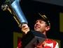 """Hungria aposenta troféu de porcelana, e Vettel reclama: """"Estou 99,8% feliz"""""""
