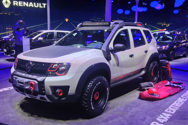 Renault Duster 4x4 Extreme Concept (Foto: Julio Cabral / Autoesporte)
