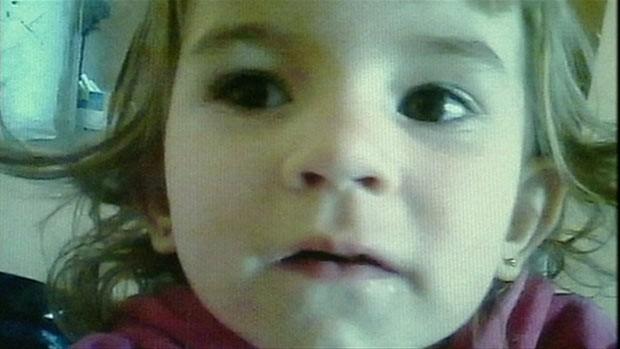 A menina Julia (Foto: EZN)