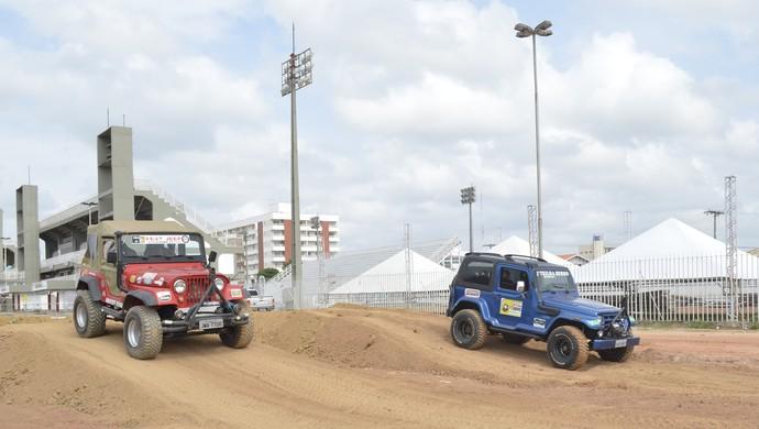 Competição de Jeep vai 'agitar' programação do equinócio do Amapá (Foto: Cassio Albuquerque/GE-AP)