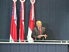 Na ALE, Melo anuncia prioridades e 'segura' reforma administrativa no AM