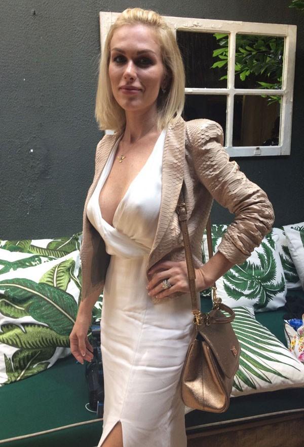 Ludmila Dayer no SPFW (Foto: Marie Claire)