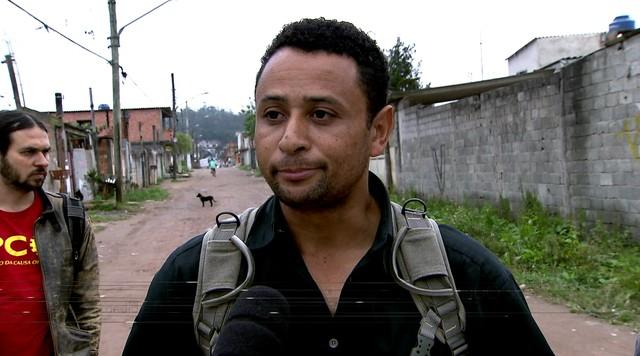 Raimundo Sena faz campanha em Vargem Grande