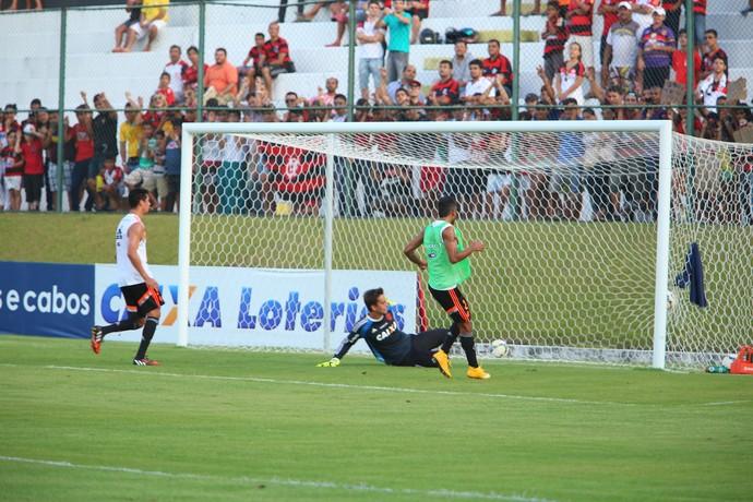 Treino do Flamengo no Frasqueirão (Foto: Alexandre Lago/GloboEsporte.com)