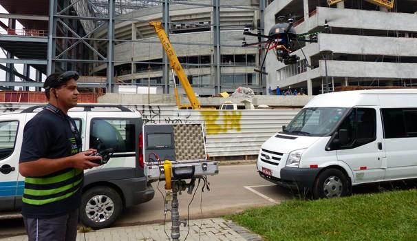 Drone (Foto: Divulgação/ RPC TV)