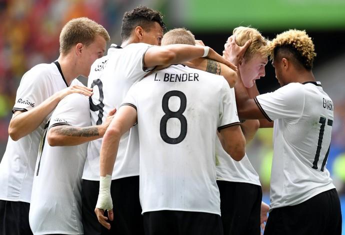 Alemanha x Portugal (Foto: Reprodução/Twitter)
