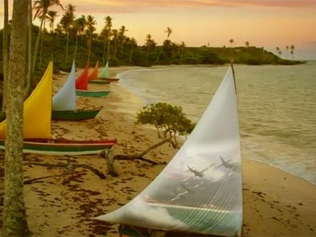 Abertura de Flor do Caribe tem cenários belíssimos (Foto: Flor do Caribe/TV Globo)