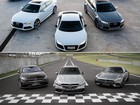 Mercedes-AMG ou Audi RS?  G1 andou nos esportivos alemães