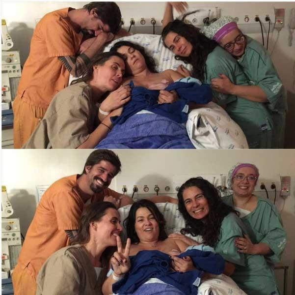 Suzane Alves na maternidade (Foto: Reprodução - Instagram)