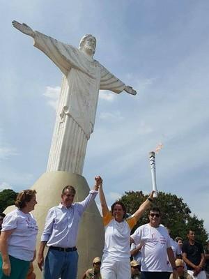 Tocha olímpica, Araxá, Minas Gerais, Tour da Tocha (Foto: Rio 2016)