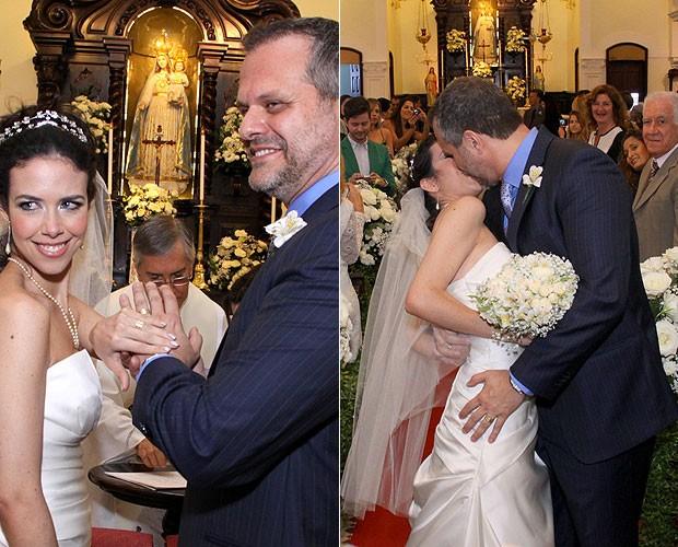 Leonardo Franco e Maria Griffth (Foto: Alex Palarea/AgNews)