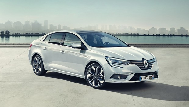 Renault Apresenta Megane Sedan O Substituto Do Fluence Para A