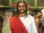 Ex-Malhação, Paulo Dalagnolli interpreta Jesus Cristo pela Viradouro