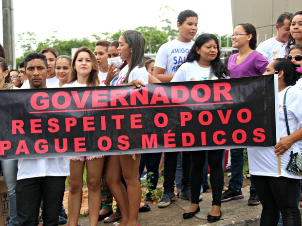 Protesto ocorreu na Zona Leste de Manaus  (Foto: Ive Rylo/ G1 AM)