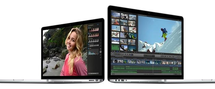 Versão mais cara do MacBook Pro conta com placa de vídeo dedicada  (Foto: Divulgação/Apple)