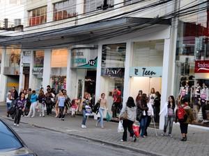 Rua Teresa em Petrópolis - polo de moda (Foto: Divulgação)