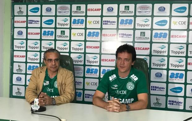 Palmeron e Fernando Diniz, Guarani
