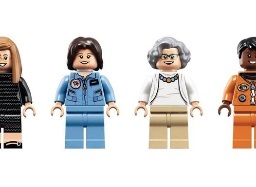 Lego lança coleção para homenagear mulheres da Nasa