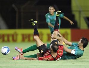 Sport x Coruripe (Foto: Antônio Carneiro/ Pernambuco Press)