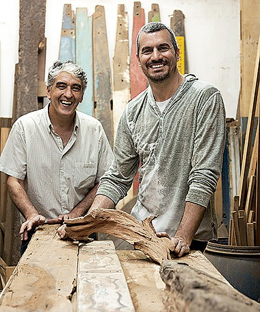 Danilo Ramos e Giulio Mosiici (Foto: Cacá Bratke/ Editora Globo)