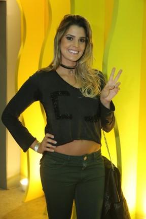 Mari Paraíba em evento na Barra da Tijuca, Zona Oeste do Rio (Foto: Daniel Pinheiro/ Ag. News)