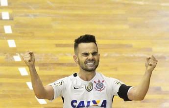 Campeão da LNF pelo Corinthians, Deives acerta com o Carlos Barbosa