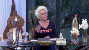 Ana Maria explica o que é #TBT