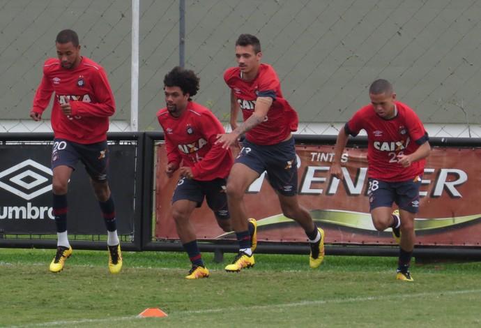 Hernani Otávio Bruno Mota Marcos Guilherme Atlético-PR (Foto: Fernando Freire)