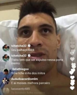 Tchê Tchê polêmica vivo Moisés Gabriel expulso (Foto: Reprodução/Instagram)