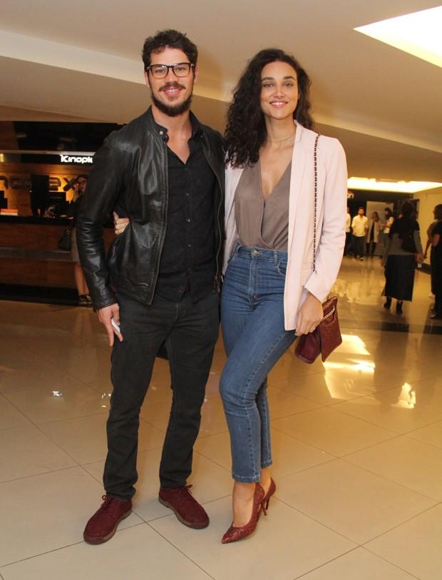 José Loreto e Débora Nascimento (Foto: Wallace Barbosa/AgNews)
