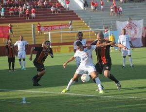 Globo FC x América-RN - Alfredo (Foto: Canindé Pereira/Divulgação)