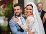 Giovanna Antonelli e Bruno Gagliasso gravam casamento em 'Sol Nascente'
