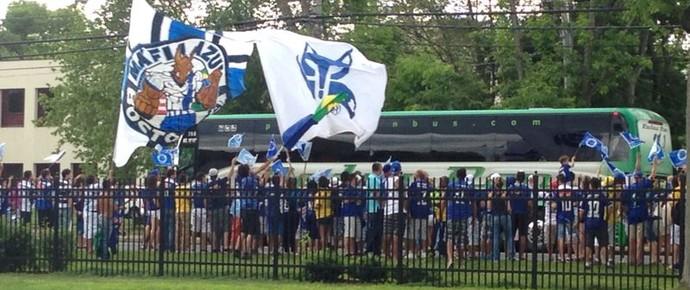 Torcida Cruzeiro EUA (Foto: Marcelo Jordy)