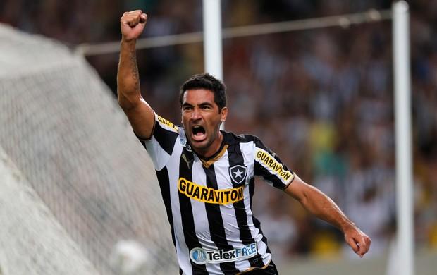 Ferreyra gol Botafogo x San Lorenzo (Foto: Reuters)