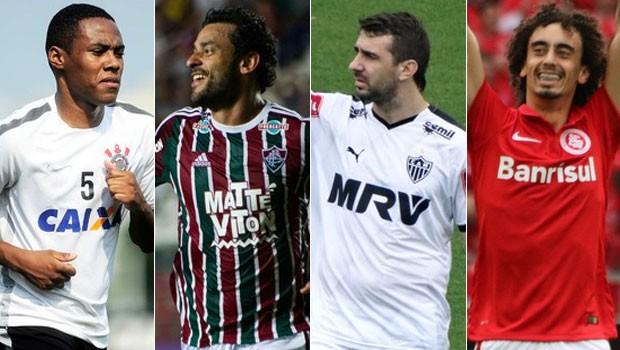 Corinthians, Fluminense, Atlético-MG e Internacional representam o Brasil no Torneio da Flórida (Foto: globoesporte.com)