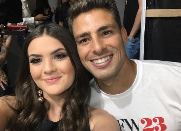Lívia Inhudes e Cauã Reymond (Foto: Reprodução/Instagram)