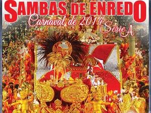 Capa do CD dos sambas do Grupo de Acesso A (Foto: Divulgação/ Lierj)