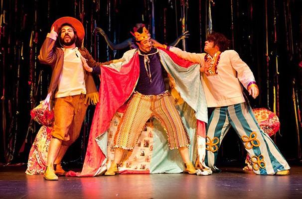 Espetáculo conta 'Hamlet' pela ótica do cordel (Foto: Divulgação)