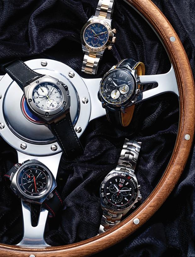 Relógios (Foto: THIAGO JUSTO)