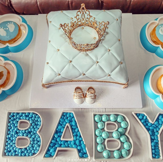 Chá de bebê do filho de Kayla Rae Reid e Ryan Lochte, (Foto: Reprodução/Instagram)