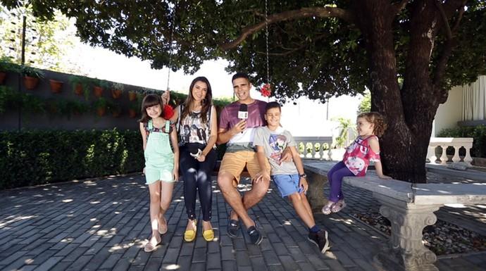 'Programão' deste sábado (23) tem diversão, brincadeiras e dicas de férias (Foto: Gshow/Rede Clube)