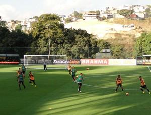 atlético-MG treino (Foto: Fernando Martins)