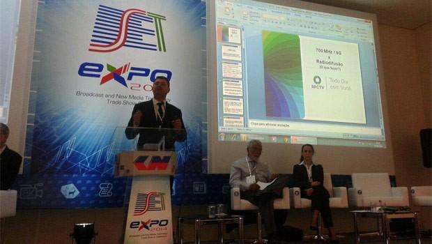 Time de Engenharia apresenta palestras sobre tecnologias e serviços aplicados no mercado de broadcasting (Foto: Divulgação/RPC TV)