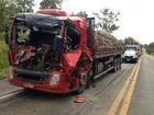 Homem morre em colisão entre três caminhões em Eldorado do Sul, no RS